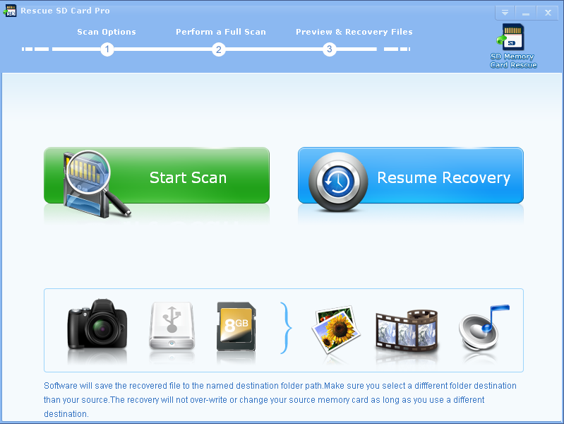 Perform memory card picture recovery free.